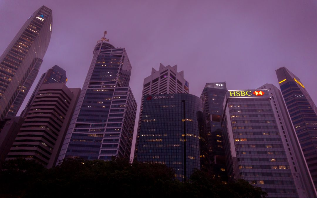 Image with HSBC in background