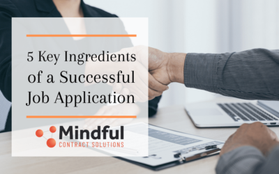 The 5 Key Ingredients for a Successful Job Application