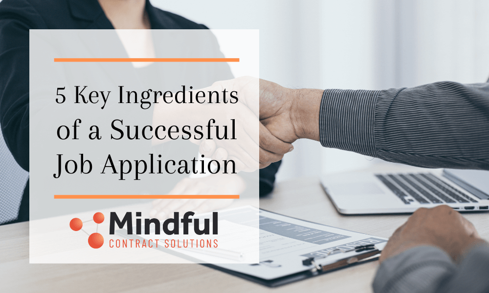 Ingredients for Successful Job Application