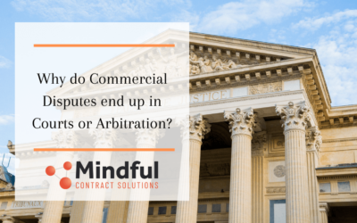 Why do Commercial Disputes end up in Courts or Arbitration?