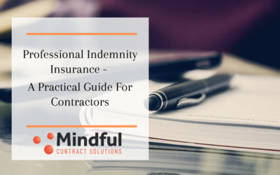 Professional Indemnity Insurance – A Practical Guide for Contractors