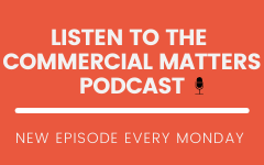 Commercial Matters Podcast Widget