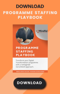 Programme Staffing Playbook Widget