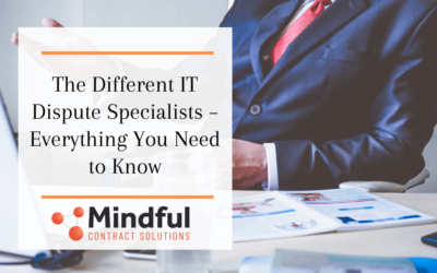 The Different IT Dispute Specialists – Everything You Need to Know