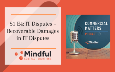 S1 E4: IT Disputes – Recoverable Damages in IT Disputes