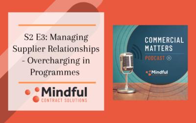 S2 E3: Managing Supplier Relationships – Overcharging in Programmes
