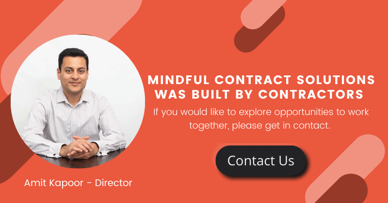 Contractor contact us