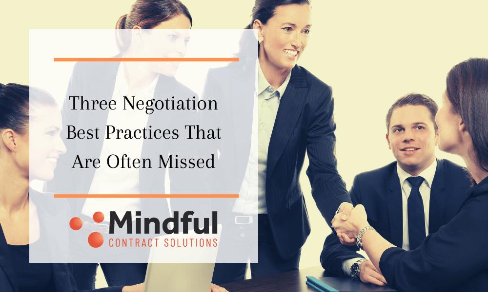 practical negotiation skills