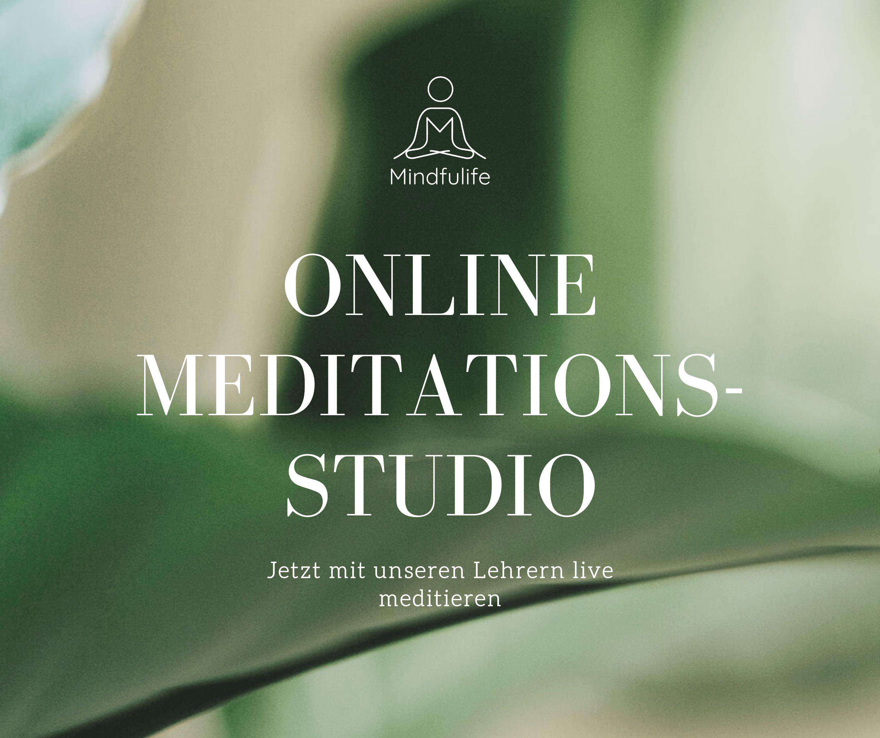 online meditation lernen