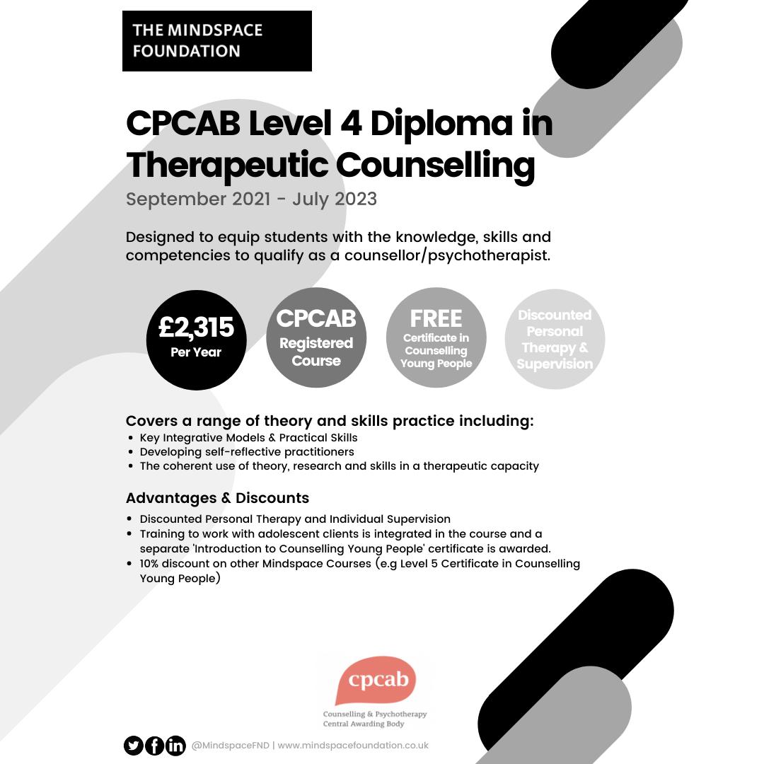 Level 4 Diploma Advert