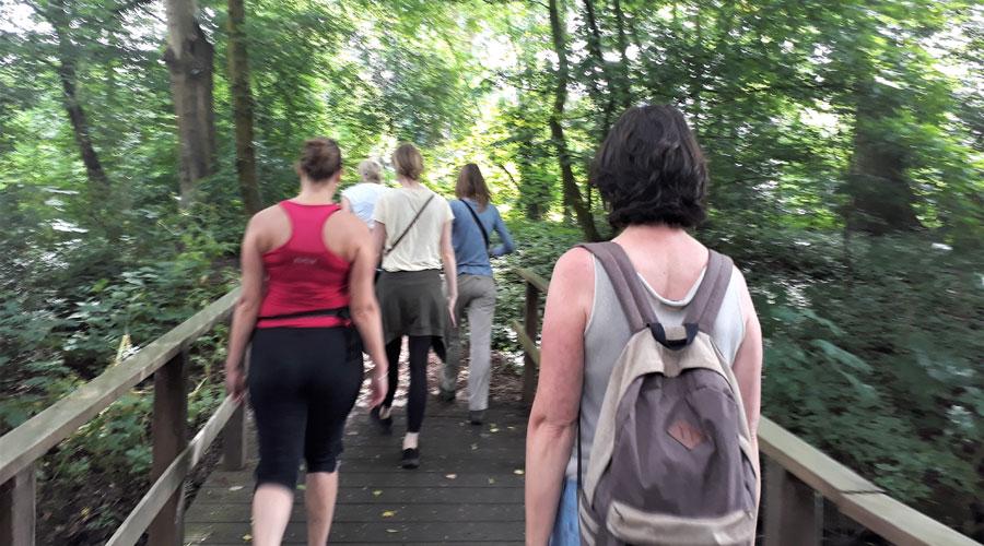Mindful wandelen in een groep, MindWalker