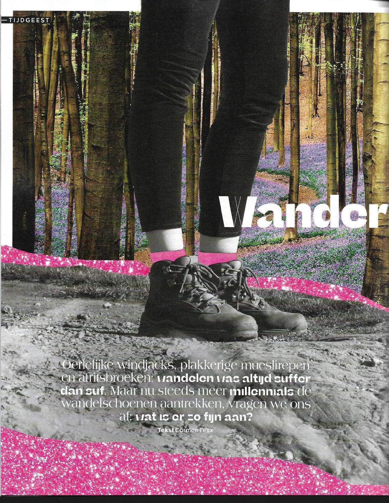 viva 2-1-2020 de Kracht van wandelen Wandelcoach Jolanda Hogenbirk