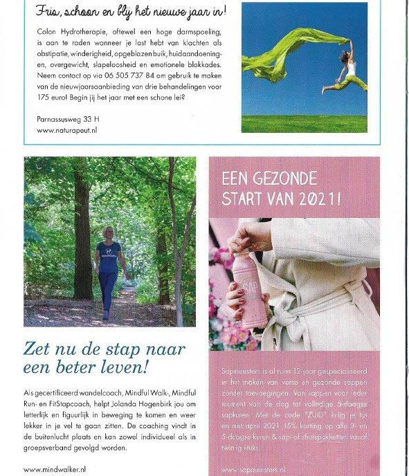 Artikel MindWalker in ZOZ magazine