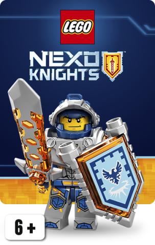 Nexo Knights Minifigurer