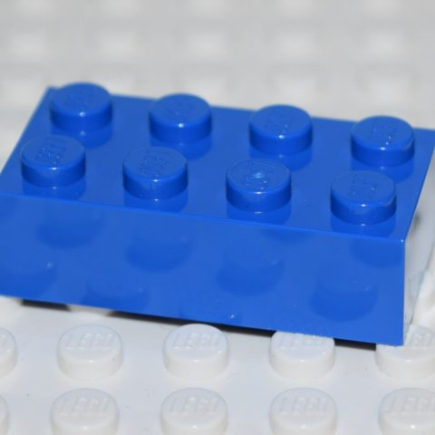 Blåa Bitar