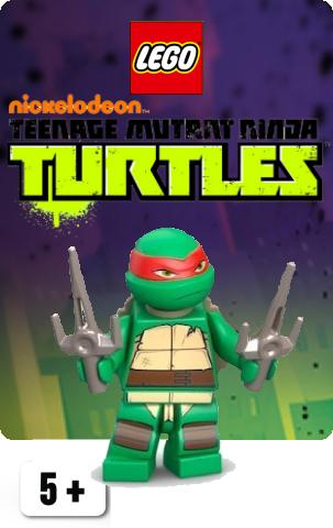Teenage Mutant Ninja Turtles Minifigurer