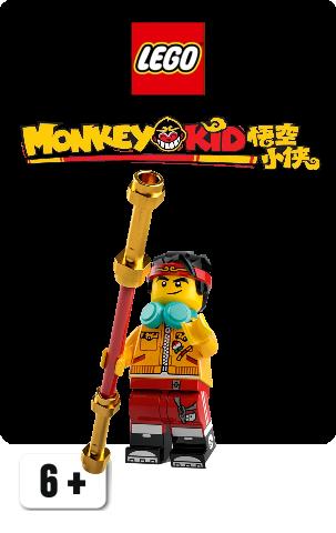 Monkie Kid Minifigurer