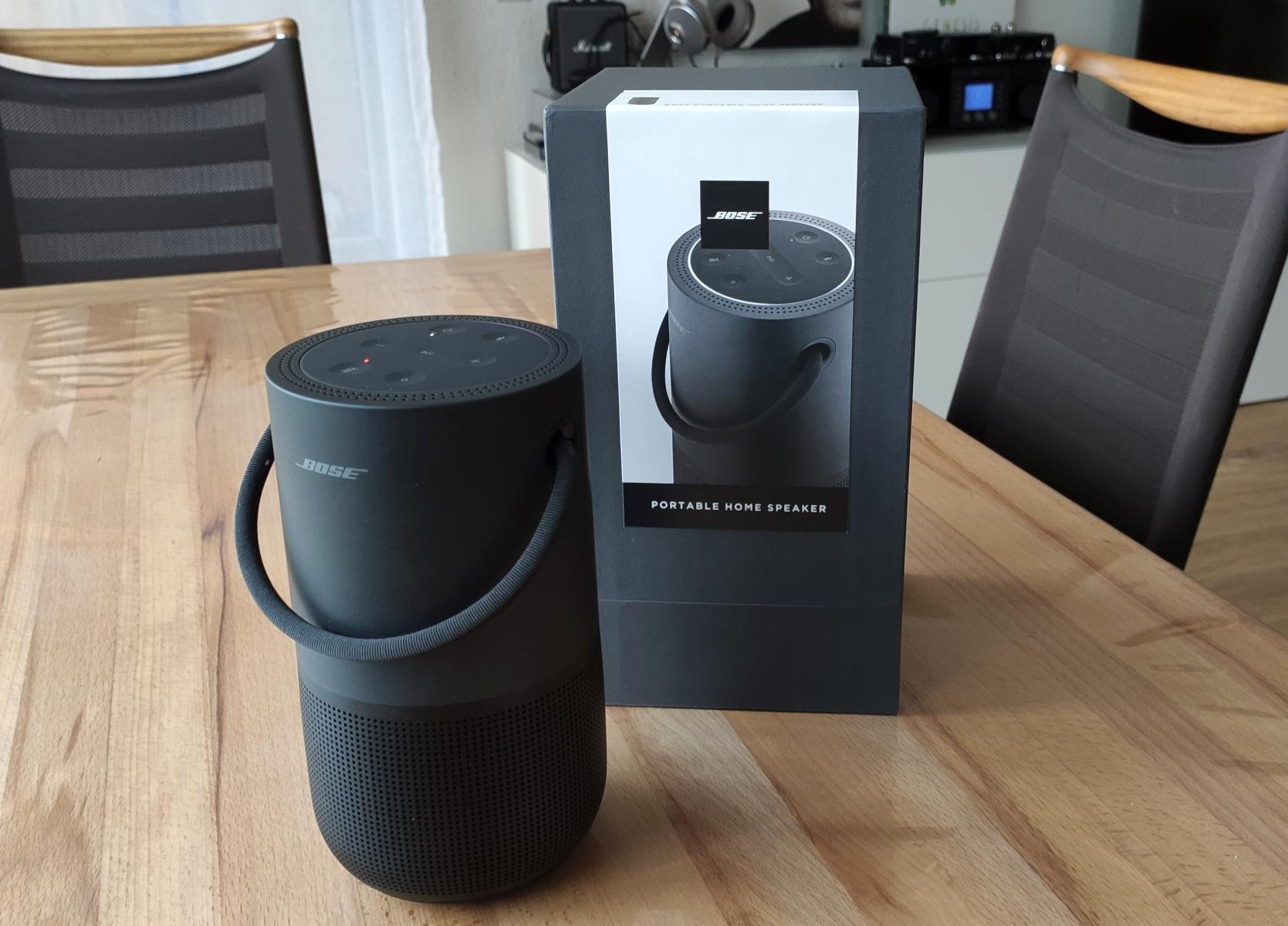 BOSE Portable Home Speaker im Test - Fast perfekt! - Miniklangwunder