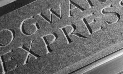 Hogwarts Express sign CNC