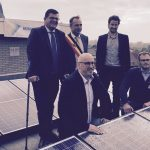 Kuurne installs first solar park - Kuurne installeert eerste zonnepark