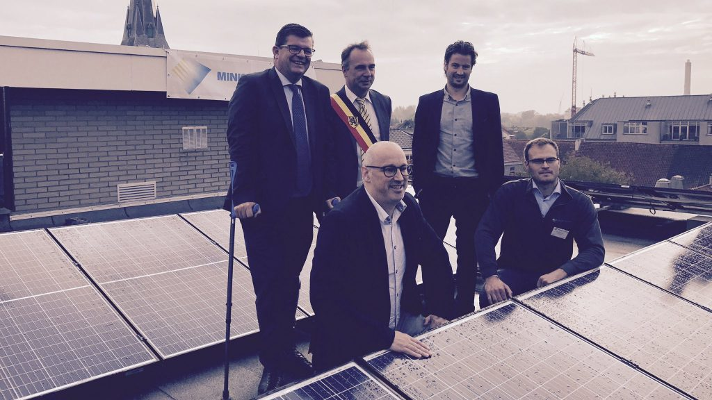 Ministry Of Solar : Kuurne installe parc solaire