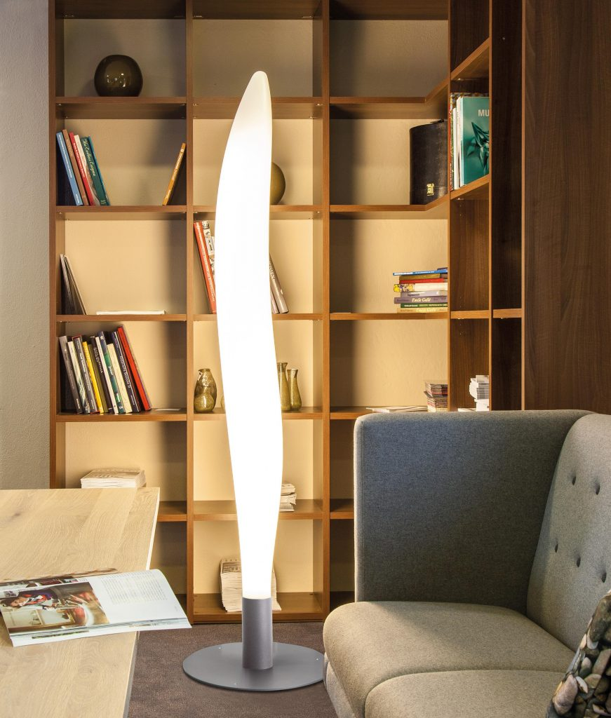 Lunocs Flame LED-verlichting maakt de zithoek knus