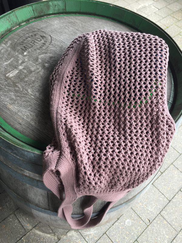Taske i økologisk bomuld