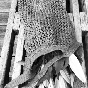 ByLohn hæklet taske - grå