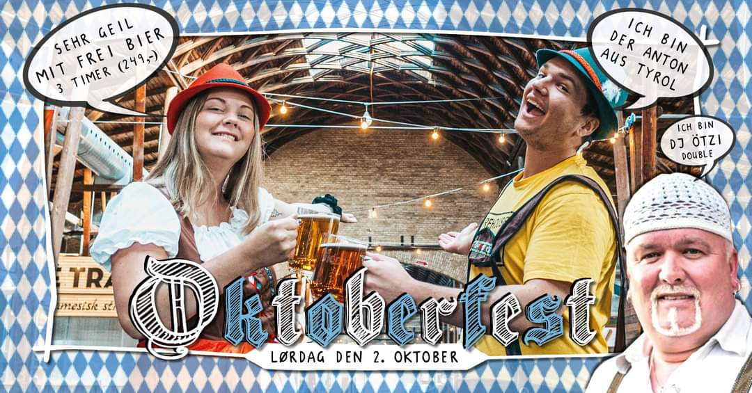 Oktoberfest og fri øl i Storms Pakhus