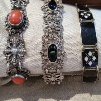 oude en antieke zilveren armbanden