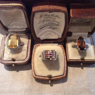 oude en antieke zilveren ringen