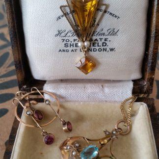 Antieke gouden kettingen / hangers