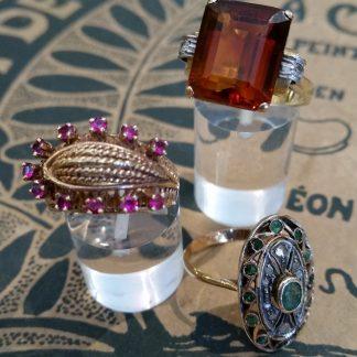 Antieke gouden ringen