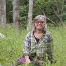 Caroline Kindblom Landtmanson certifierad skogsbadsguide