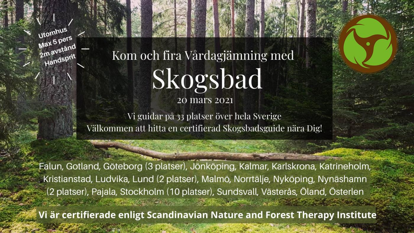 Skogsbad på Öland