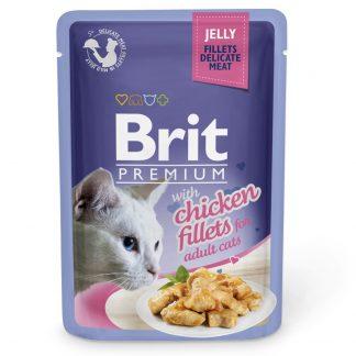 Brit Premium Fillets Chicken Jelly 85g blötmat