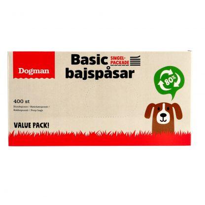 DOGMAN Bajspasar Value Pack 400st
