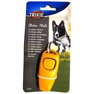TRIXIE Dog Activity Klicker-Vissla Orange