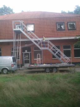 Noodtrappen asielcentrum Helchteren