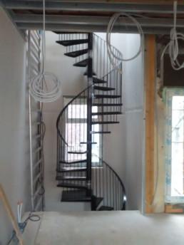 Spiltrap twee verdiepingen