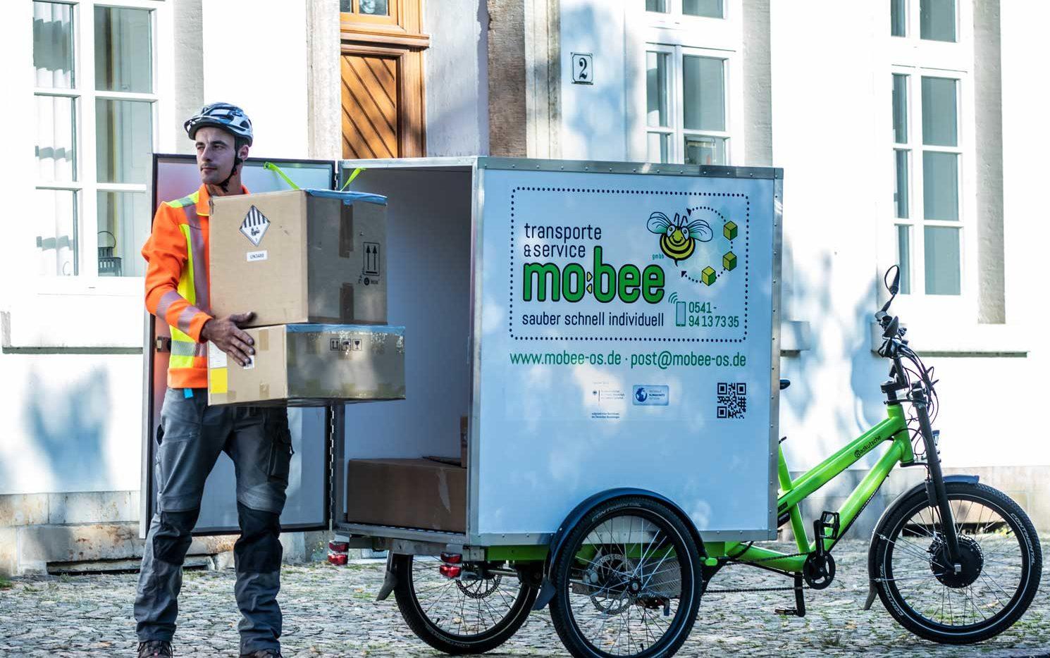 Pakete für Osnabrück? Gerne auch viele!