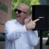 DJ Frank Boberach steht für gute Musik und professionelle Technik von Bose und Electro Voice