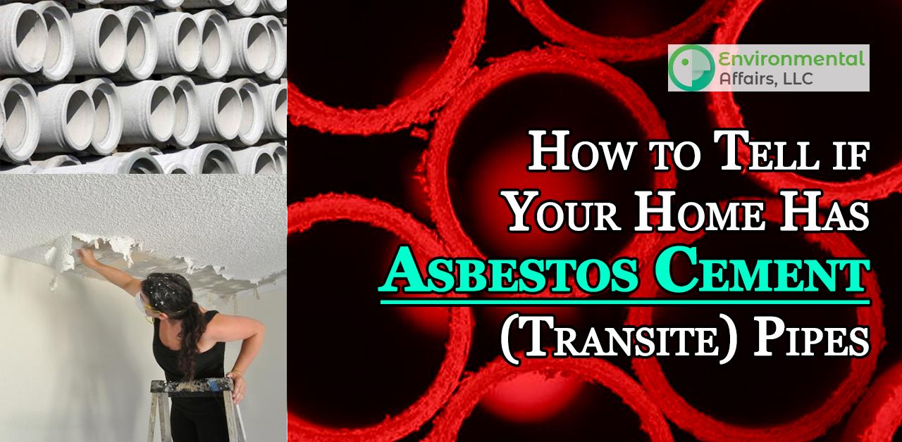 Asbestos Cement (Transite) Pipes