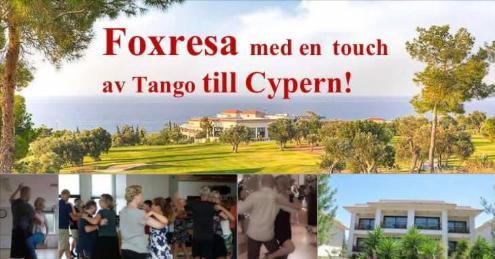 16-23 maj: Foxresan till Cypern med Mölndals Dansskola