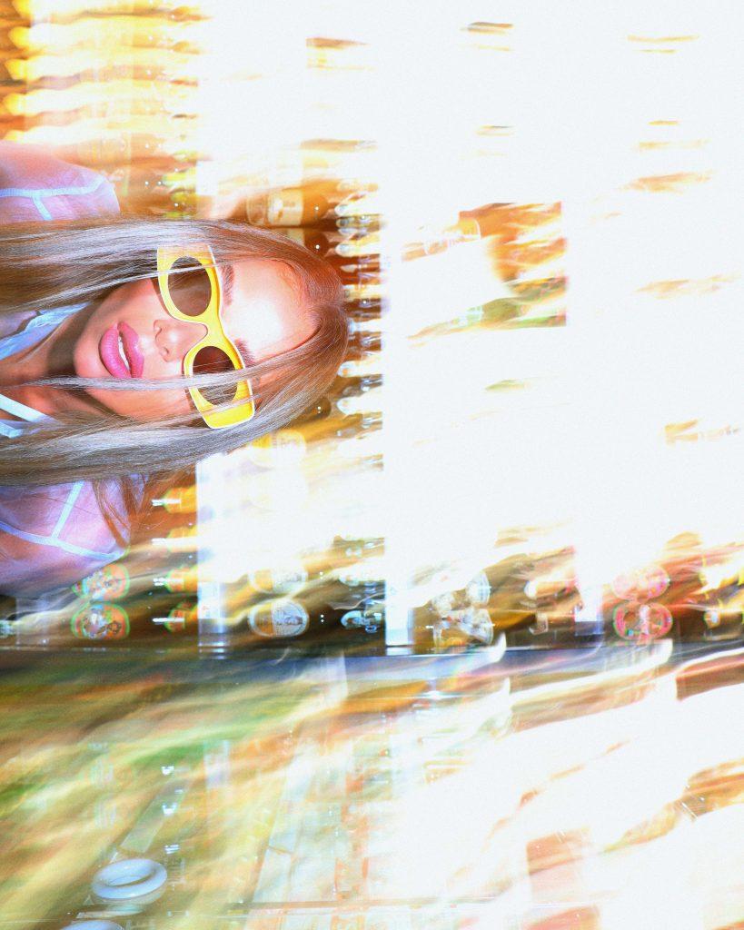 DJ SONYA light and fire performance for MoltoBlog.Com
