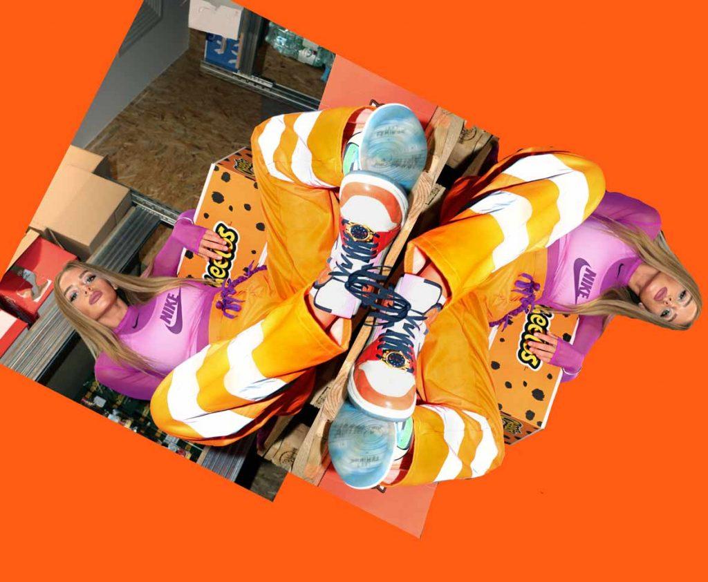 Cheetos And DJ SONYA DELICIOUS SHOTS FOR MOLTOBLOG