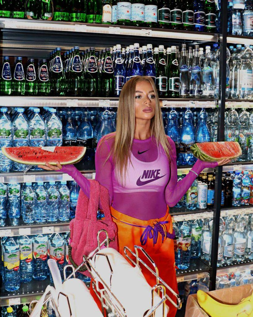 dj sonya truszkowski for moltoblog watermelon babe