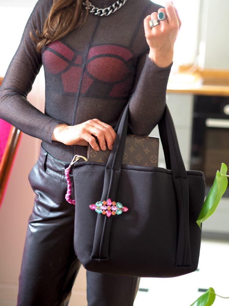 molto handmade neoprene bag