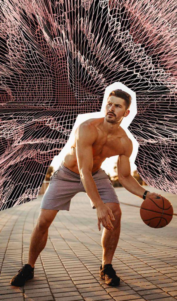 basketball michal dziengo model by diana raczkiewicz
