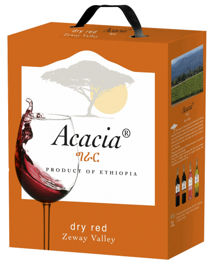 Dry red wine box 3l